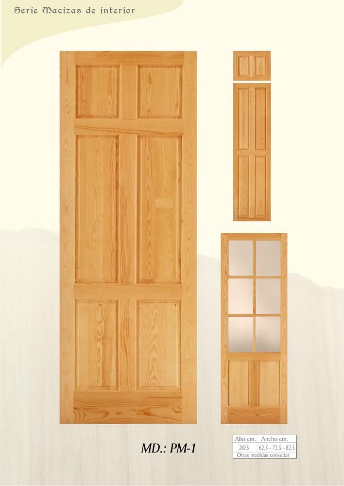 Medidas de puertas interiores puerta de interior modelo - Medidas puertas de interior ...