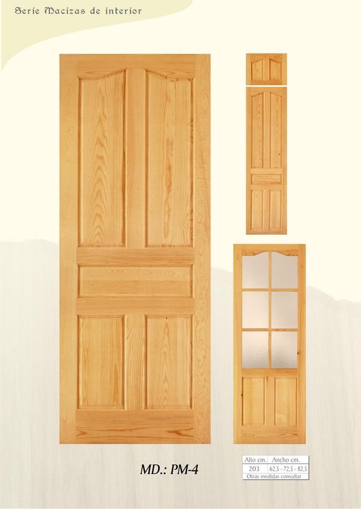 Puertas de interior macizas puertas de madera maciza for Puertas madera maciza