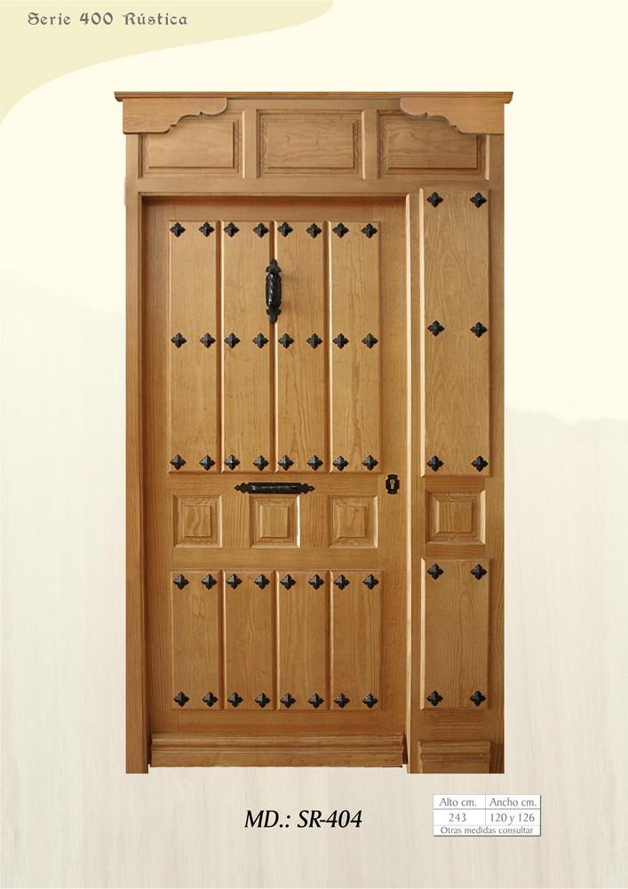 puertas de calle r sticas puertas de exterior rusticas