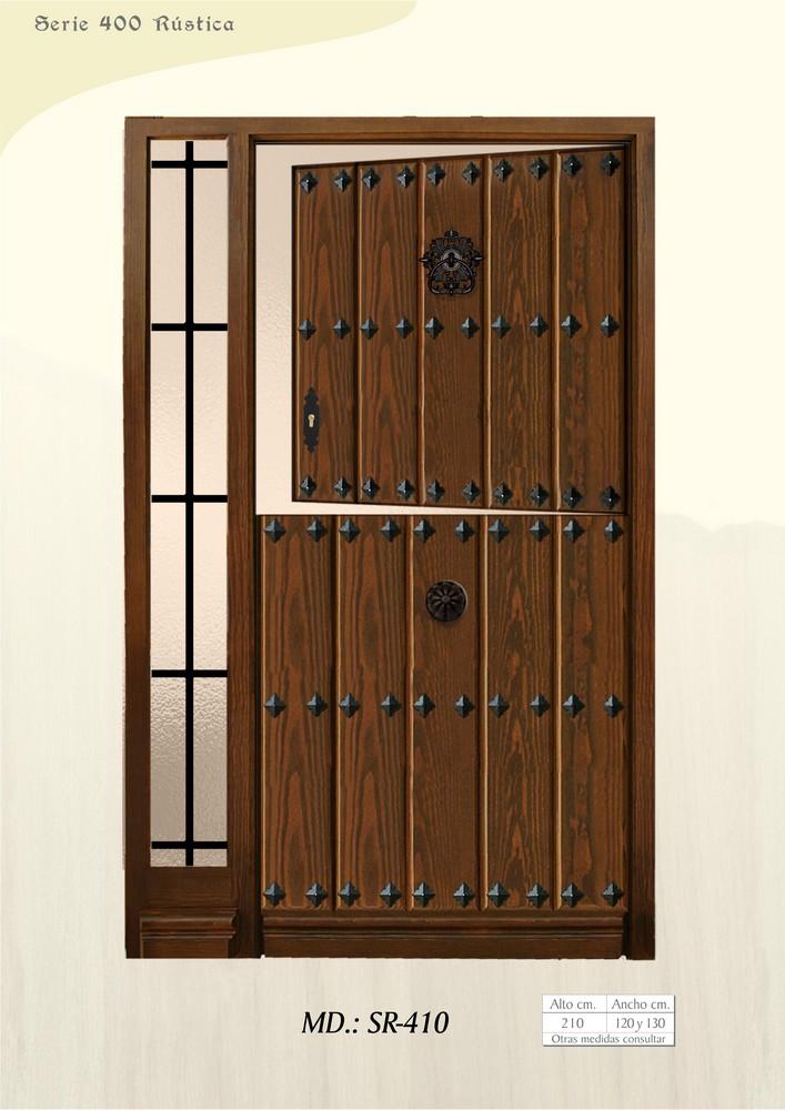 Puertas de calle r sticas puertas de exterior rusticas - Puertas de calle de madera ...