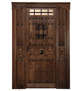 Puertas de calle r sticas puertas de exterior rusticas - Puertas de maderas rusticas ...