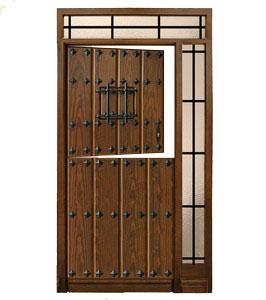 Puertas de calle r sticas puertas de exterior rusticas - Fotos de puertas rusticas de madera ...