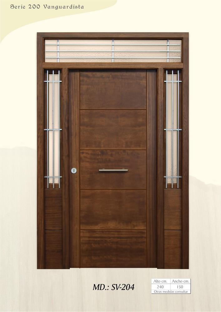 Puertas de calle vanguardistas puertas de exterior for Puertas de calle aluminio precios