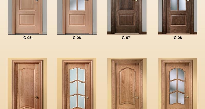 Puertas de interior cl sicas puertas de pino puertas for Ver puertas de interior