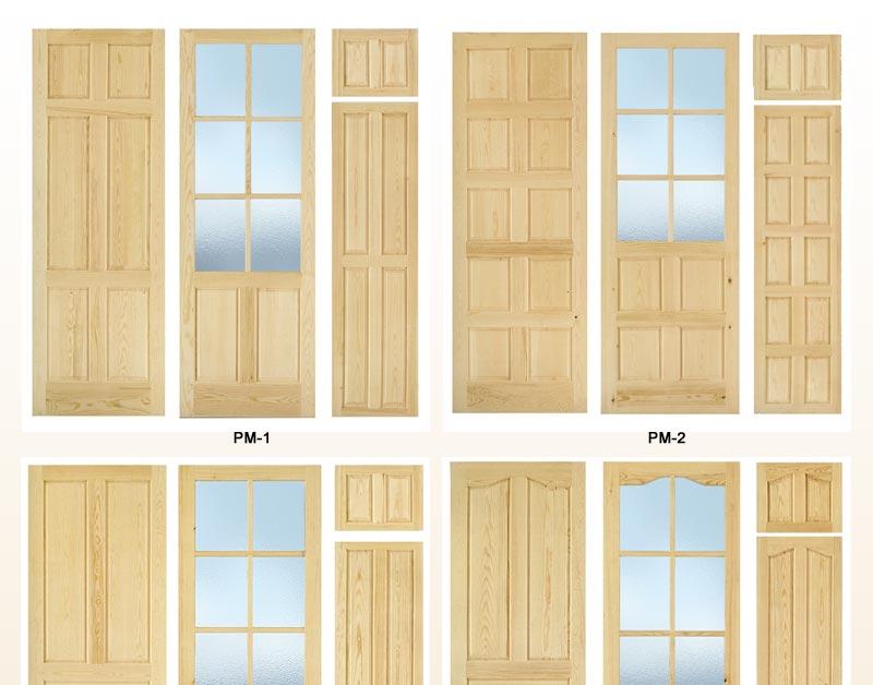 Puertas de interior de pino macizo puertas para interior for Puertas baratas para interior